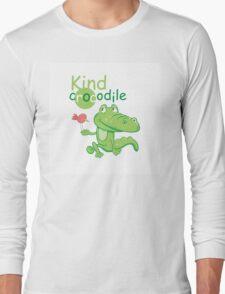 Kind crocodile. Long Sleeve T-Shirt