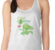Kind crocodile. Women's Tank Top