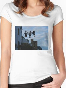 Capricious Quebec City, Canada Women's Fitted Scoop T-Shirt