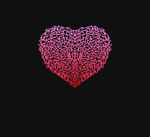 Pink Love Womens Fitted T-Shirt
