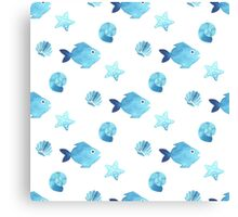 Fish pattern Canvas Print