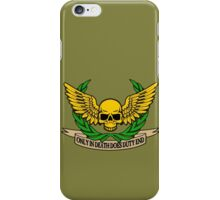 ONLY IN DEATH... iPhone Case/Skin