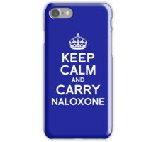 Carry Naloxone iPhone Case/Skin