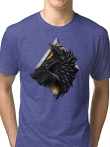Viking Wolf Head Tri-blend T-Shirt
