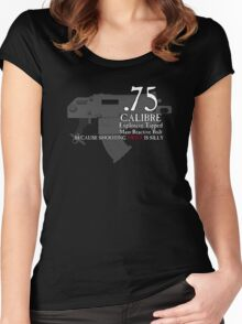 Because Shooting Twice is Silly Women's Fitted Scoop T-Shirt