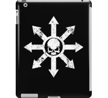 Mark of Chaos Distressed White iPad Case/Skin