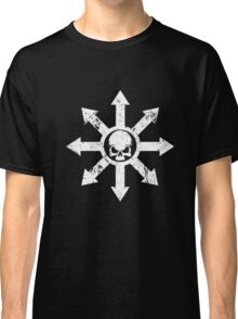 Mark of Chaos Distressed White Classic T-Shirt