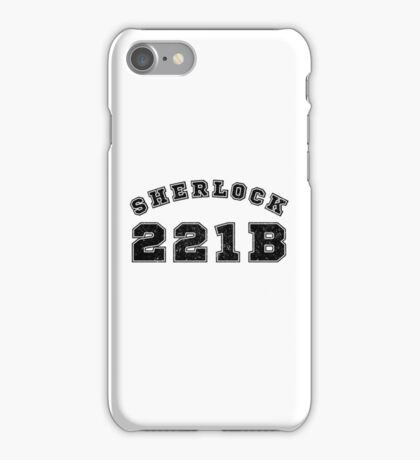 Sherlock 221b iPhone Case/Skin