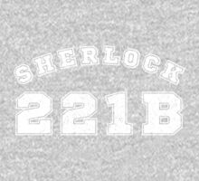 Sherlock 221b One Piece - Long Sleeve