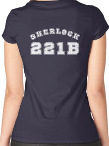 Sherlock 221b Women's Fitted Scoop T-Shirt