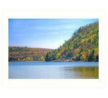 Devils Lake Art Print