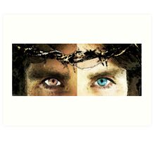 Jesus Christ - How Do You See Me Art Print