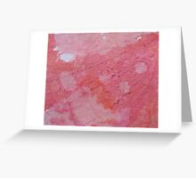 Scarred Melon Greeting Card