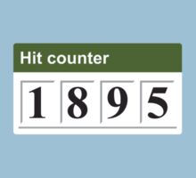 1895 Hit counter Kids Tee