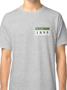 1895 Hit counter Classic T-Shirt