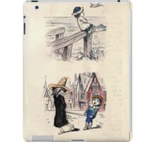 The Little Folks Painting book by George Weatherly and Kate Greenaway 0071 iPad Case/Skin
