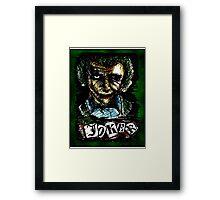 Batman The Dark Knight -The Joker - The Batman - DC Comics Framed Print