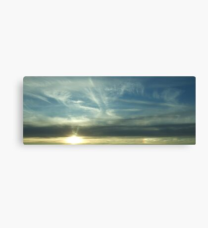 Layer Sky Canvas Print