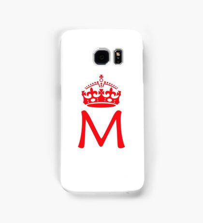 Moriarty in a crown Samsung Galaxy Case/Skin