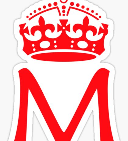 Moriarty in a crown Sticker