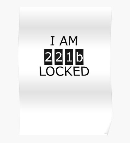 I am 221b locked Poster