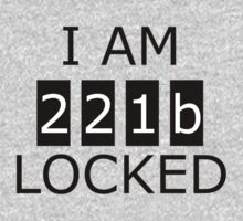 I am 221b locked Baby Tee