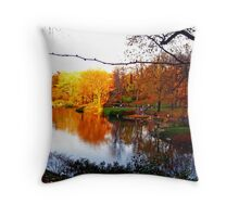 Fall Relections Throw Pillow