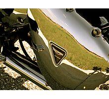 Triumph Bonneville T100: Primary Cover (Enhanced Colors) Photographic Print