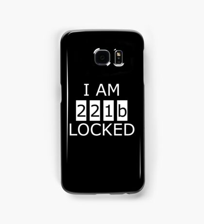 I am 221b locked Samsung Galaxy Case/Skin