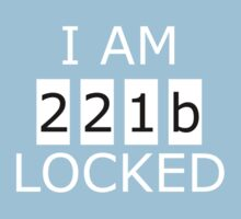 I am 221b locked One Piece - Short Sleeve