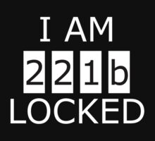 I am 221b locked One Piece - Long Sleeve