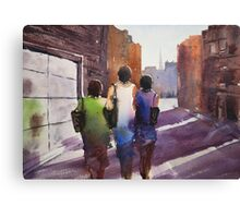Window shopping Canvas Print
