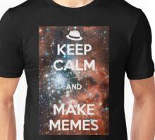 Keep Calm and Make Memes (White)  Unisex T-Shirt