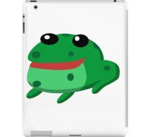 Froggy Fred iPad Case/Skin