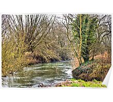 The River Windrush (West), Witney, Oxfordshire Poster
