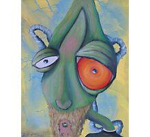 alien face  Photographic Print