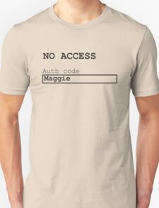 Major Barrymore's pass Unisex T-Shirt