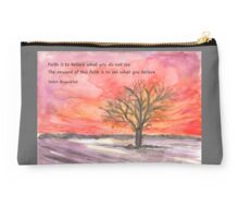 The Reward of Faith Studio Pouch