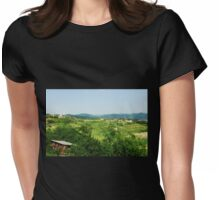 Landscape Near Smartno Womens Fitted T-Shirt
