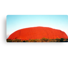 Sunrise at Uluru Canvas Print