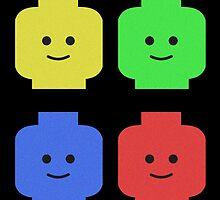 Lego Heads by jfmolloy