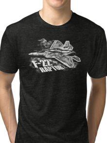F-22 RAPTOR Tri-blend T-Shirt