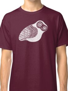 greek owl (white) Classic T-Shirt