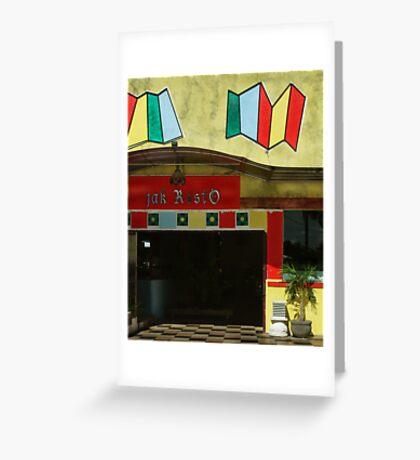 Jak Resto Greeting Card