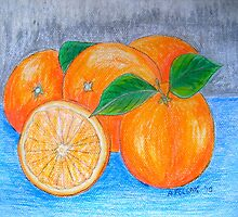 Oranges by Alexandra Felgate