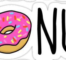 I Really Donut Care Sticker