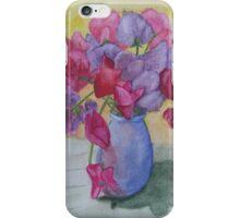 Sweet peas iPhone Case/Skin