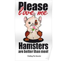 Pudding the Hamster - Please love me Poster