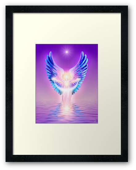 The Angel Of Divine Protection by Endre
