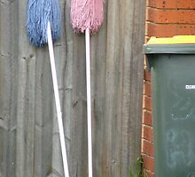 Two Mops by Joan Wild
